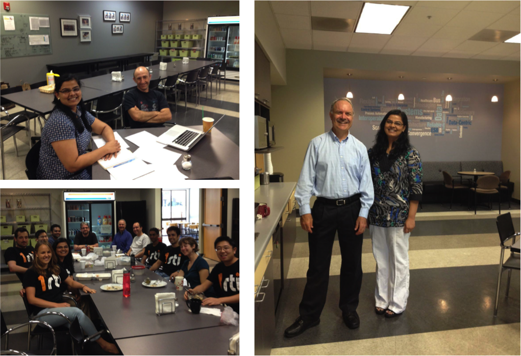 Smart People, Great Leadership: With CEO Dr. Stan Schneider, CTO Dr. Gerardo Pardo-Castellote, and the engineers.