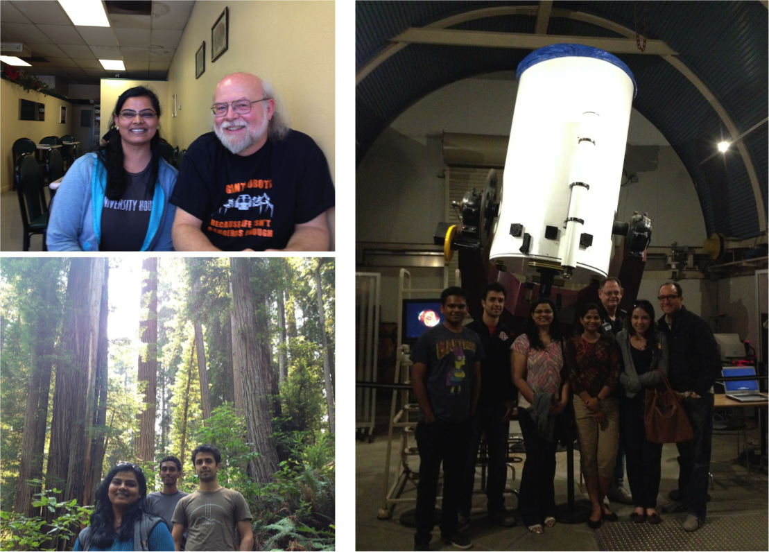 Adventures: Meeting James Gosling, visiting Chabot Space Center and Redwood National Forest.