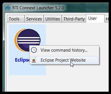 LauncherEclipseContextMenu