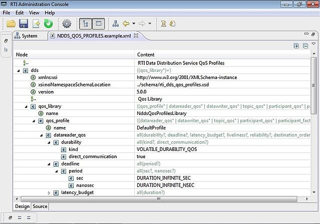 Admin Console Screenshot 3