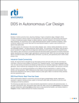 RTI Connext DDS Autonomous Cars White Paper