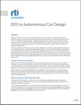 RTI Connext DDS Autonomous Cars White Paper