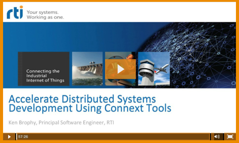 Connext DDS Tools Tutorial Video