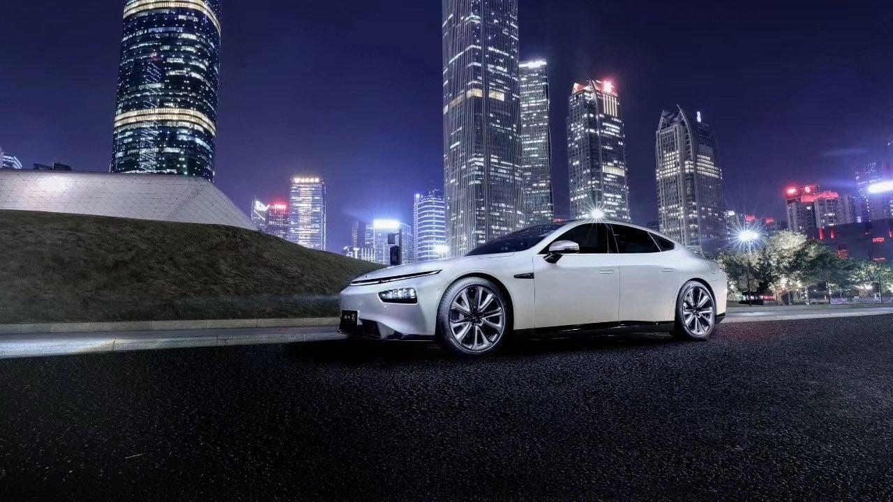 Xpeng P7 Intelligent Electric Sedan