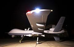 UAV at night