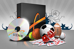 Xuenn software and sport equipment.