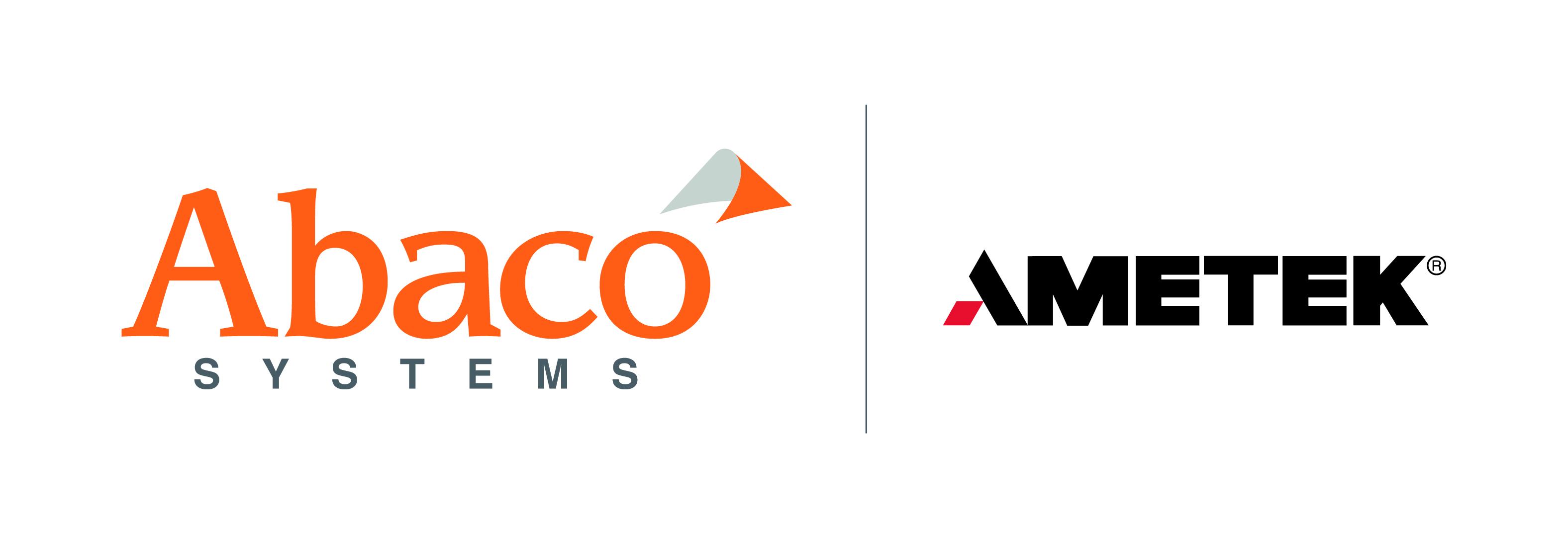 AMETEK Abaco Systems horizontal logo